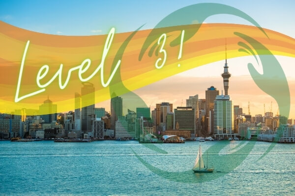 Auckland is in Level 3!